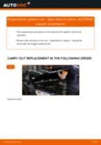How to replace and adjust Stabilizer bushes OPEL ASTRA: pdf tutorial