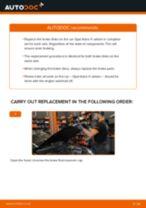 DIY manual on replacing OPEL ZAFIRA Brake Discs