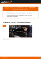 Byta tändspole på Opel Astra H sedan – utbytesguide