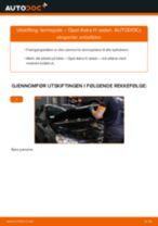 Slik bytter du tennspole på en Opel Astra H sedan – veiledning