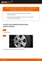 Kuinka vaihtaa etummainen alatukivarsi Audi A4 B5 sedan-autoon – vaihto-ohje