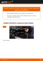 Jak vyměnit zapalovací cívku na Opel Astra H sedan – návod k výměně