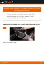 Kako zamenjati avtodel steklo ogledala na avtu Opel Astra H sedan – vodnik menjave