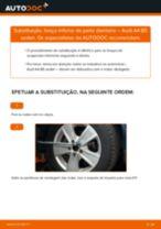 Aprenda a corrigir o problema do Braço De Suspensão traseiro e dianteiro AUDI