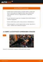 Elülső féktárcsák-csere Opel Astra H sedan gépkocsin – Útmutató