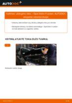 Kaip pakeisti Opel Astra H sedan uždegimo ritės - keitimo instrukcija
