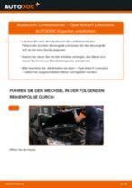 Tipps von Automechanikern zum Wechsel von OPEL Opel Astra G CC 1.6 (F08, F48) Motorlager