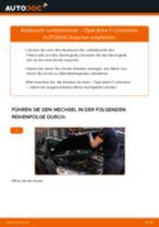 Wie Opel Astra H Limousine Lambdasonde wechseln - Schritt für Schritt Anleitung