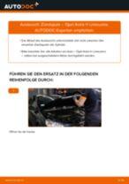 Wie Opel Astra H Limousine Zündspule wechseln - Schritt für Schritt Anleitung