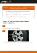 Querlenker erneuern AUDI A4: Werkstatthandbücher