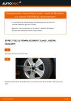 Manuel en ligne pour changer vous-même de Tirette à câble frein de stationnement sur VW Karmann GHIA Décapotable