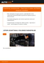 Udskift lambdasonde - Opel Astra H sedan | Brugeranvisning