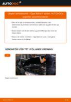 Byta lambdasond på Opel Astra H sedan – utbytesguide