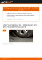 Mekanikerens anbefalinger om bytte av DODGE Dodge Caliber SRT4 1.8 Støtdemper