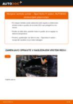 Kako zamenjati avtodel lamda sonda na avtu Opel Astra H sedan – vodnik menjave
