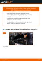 Online tasuta juhised kuidas vahetada Lambda-andur OPEL ASTRA H Saloon (L69)