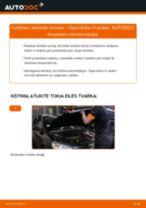 Nemokamos internetinės instrukcijos kaip atnaujinti Lambda jutiklis OPEL ASTRA H Saloon (L69)