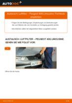 Tipps von Automechanikern zum Wechsel von PEUGEOT Peugeot 406 Limousine 1.8 16V Radlager