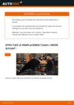 Comment changer : roulement de roue arrière sur Opel Astra H berline - Guide de remplacement
