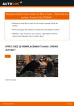 Changer Filtre à Huile OPEL à domicile - manuel pdf en ligne
