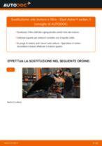 PDF manuale di sostituzione: Filtro olio motore OPEL Astra H Sedan (A04)
