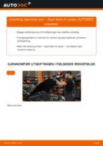 PDF med trinn for trinn-veiledning for bytte av OPEL ASTRA H Saloon (L69) Støtdemper