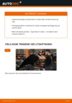 Skifte Hjullagersett OPEL ASTRA: gratis pdf