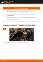 OPEL Lozisko kolesa predné vľavo vpravo vymeniť vlastnými rukami - online návody pdf