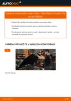 Online návod jak vyměnit Sada brzdových čelistí parkovací brzda na VW Lupo 5Z1