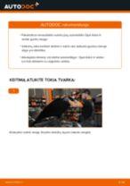 Kaip pakeisti gale ir priekyje Rato guolis OPEL ASTRA H Saloon (L69) - instrukcijos internetinės