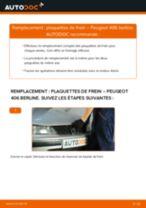 Manuel d'utilisation PEUGEOT 406 pdf