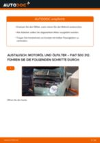 DIY-Leitfaden zum Wechsel von Ölfilter beim FIAT 500