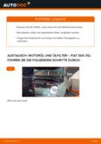 Wie Fiat 500 312 Motoröl und Ölfilter wechseln - Anleitung
