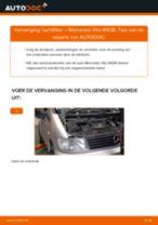 Tips van monteurs voor het wisselen van MERCEDES-BENZ Mercedes Vito W639 113 CDI 2.2 Luchtfilter