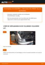 Hoe brandstoffilter vervangen bij een Mercedes Vito W638 – Leidraad voor bij het vervangen