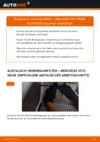 Schritt für Schritt Anweisungen zur Fehlerbehebung für MERCEDES-BENZ Innenraumfilter