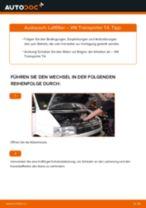 Luftfilter selber wechseln: VW Transporter T4 - Austauschanleitung