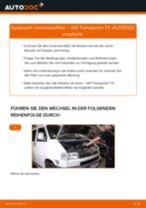 Wie Pollenfilter VW TRANSPORTER auswechseln und einstellen: PDF-Anleitung
