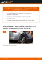 Comment changer : amortisseur arrière sur Mercedes Vito W638 - Guide de remplacement