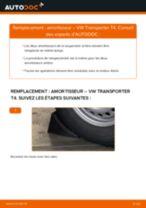 Comment changer : amortisseur arrière sur VW Transporter T4 - Guide de remplacement