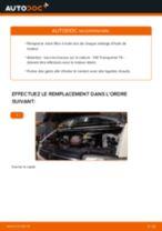 Tutoriel PDF étape par étape sur le changement de Filtre à Huile sur VW TRANSPORTER IV Bus (70XB, 70XC, 7DB, 7DW)