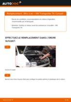 Comment changer : filtre à air sur VW Transporter T4 - Guide de remplacement