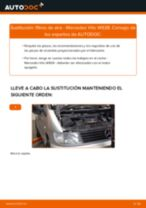 Cambiar Filtro de Aire MERCEDES-BENZ VITO: manual de taller