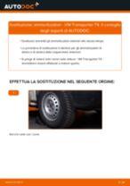 Come cambiare ammortizzatori della parte anteriore su VW Transporter T4 - Guida alla sostituzione