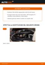 Come cambiare olio motore e filtro su VW Transporter T4 - Guida alla sostituzione