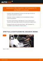 Come cambiare filtro antipolline su VW Transporter T4 - Guida alla sostituzione