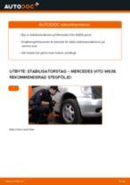 Byta Länk krängningshämmare MERCEDES-BENZ VITO: gratis pdf