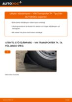 Byta stötdämpare bak på VW Transporter T4 – utbytesguide