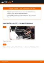 Byta luftfilter på VW Transporter T4 – utbytesguide