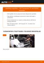 Slik bytter du kupefilter på en VW Transporter T4 – veiledning